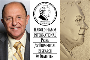 Pioneering Scientist Ralph DeFronzo Named 2017 Hamm Prize Laureate